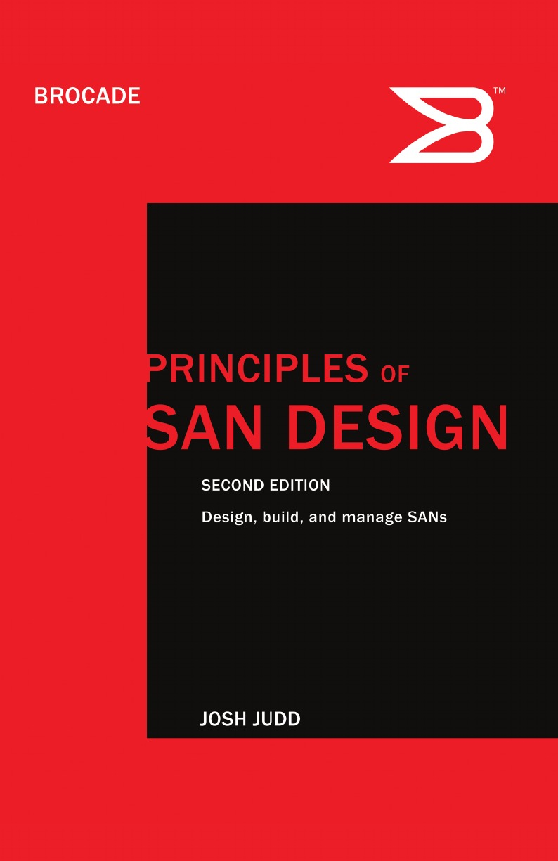 Josh Judd Principles of SAN Design Second Edition red line v10 внешний аккумулятор 8000 мач