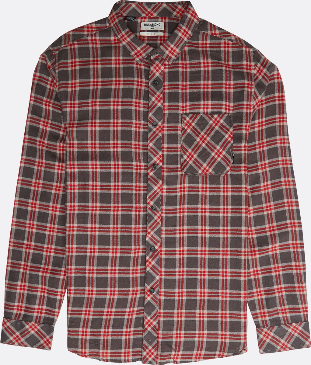 Рубашка Billabong Freemont Flannel рубашка billabong faded shirt light steel