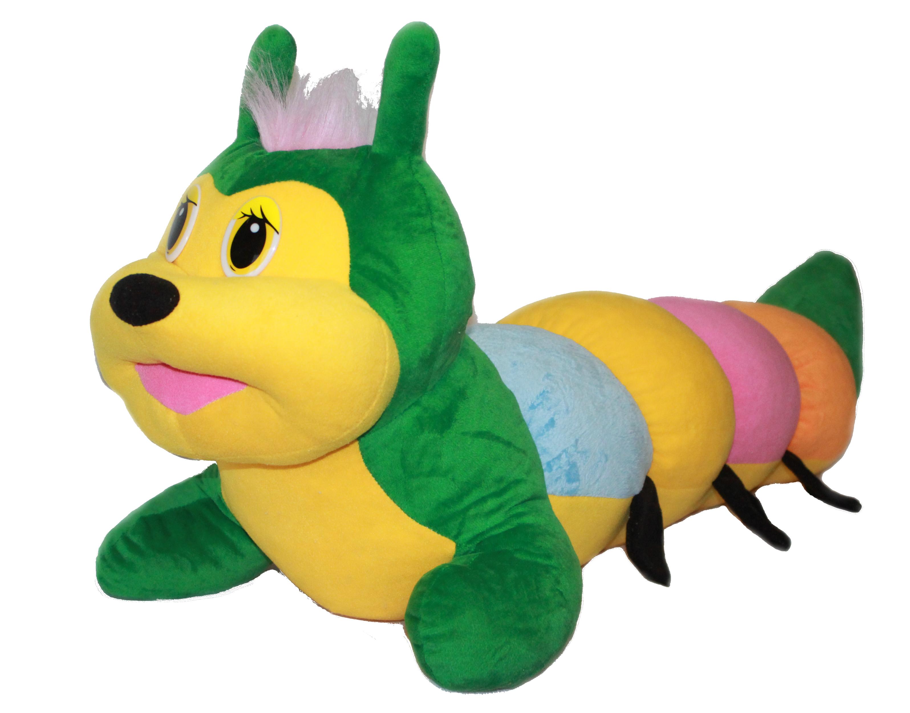 Мягкая игрушка Аймид Гусеничка 120 см 336 разноцветный