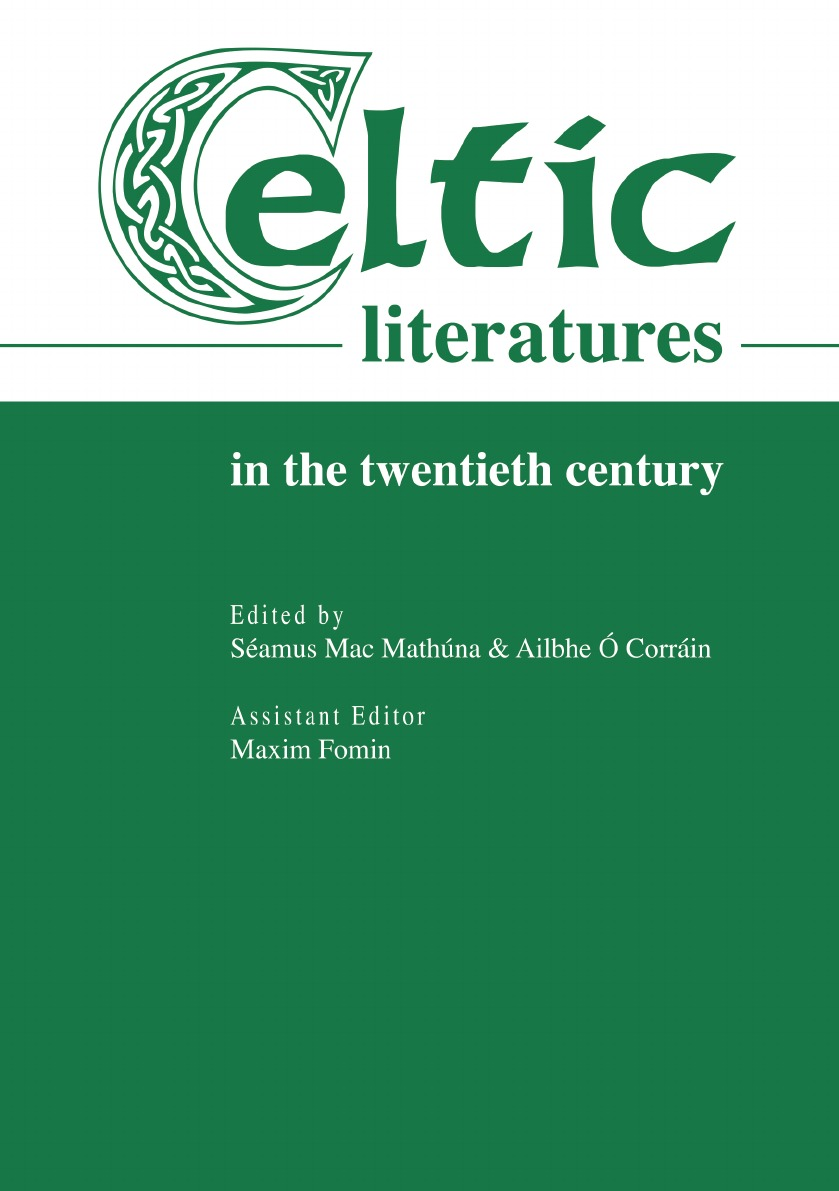 S. Mac Mathúna, A. Ó Corráin Celtic literatures in the twentieth century gender in twentieth century eastern europe and the ussr