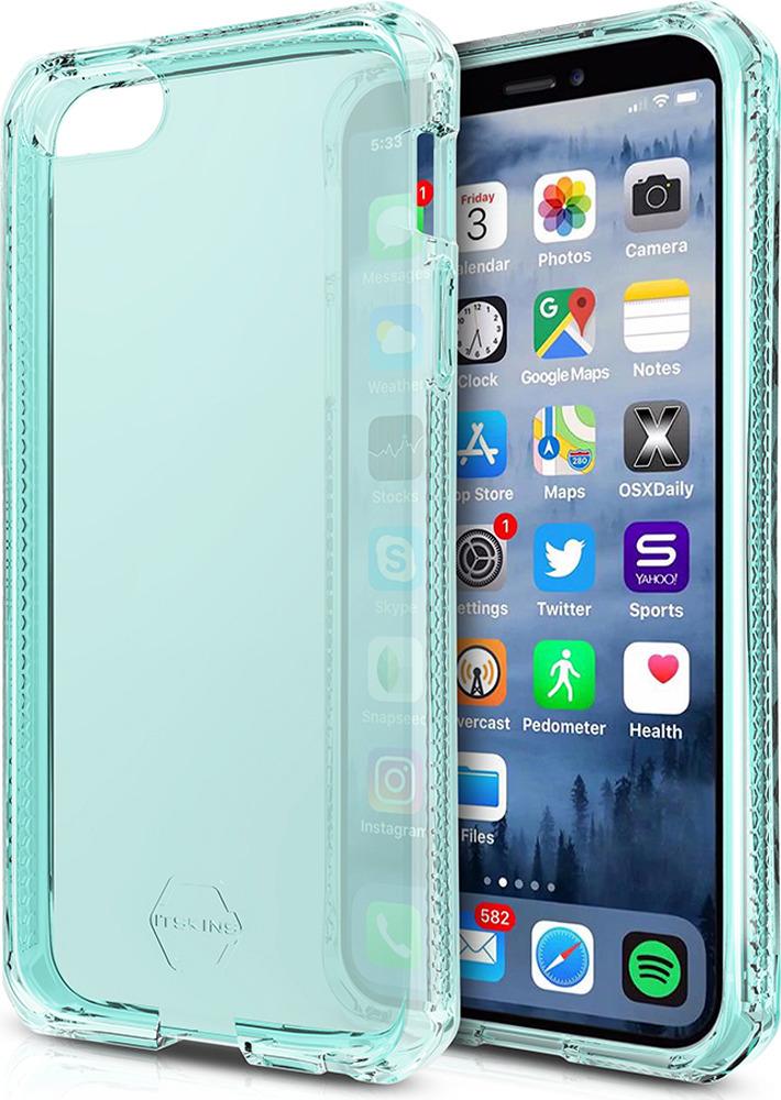 Чехол-накладка Itskins Spectrum Clear для Apple iPhone 5/5S/SE, мятный аксессуар чехол накладка itskins для iphone 5c zero 3 пленка black 572610596