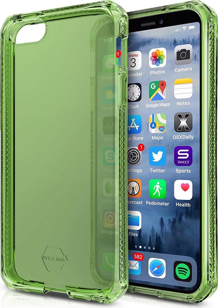 Чехол-накладка Itskins Spectrum Clear для Apple iPhone 5/5S/SE, хаки аксессуар чехол накладка itskins для iphone 5c zero 3 пленка black 572610596