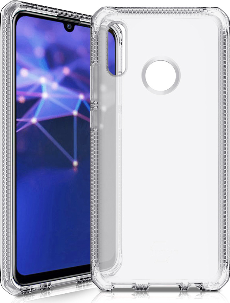 Чехол-накладка Itskins Spectrum Clear для Huawei P Smart (2019)/Honor 10 Lite, прозрачный