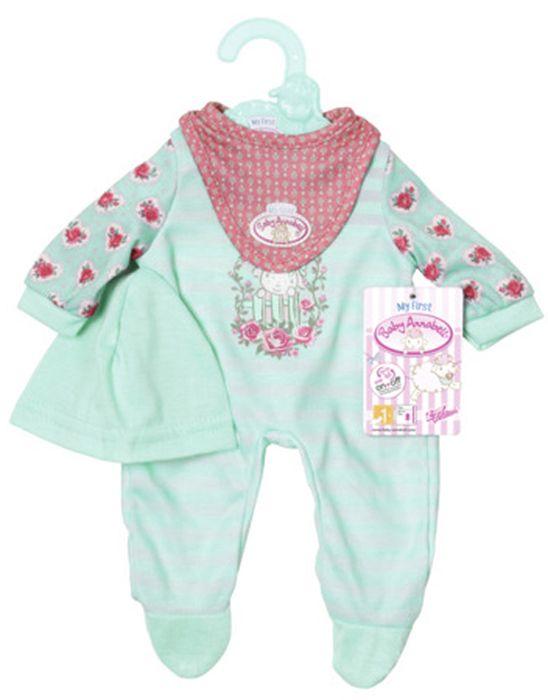 Одежда для кукол Zapf Creation 700-587 платье для кукол zapf creation baby born розовое платье цвет в ассортименте