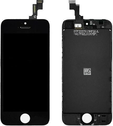 Дисплей для телефонов Apple iPhone 5S, черный стоимость