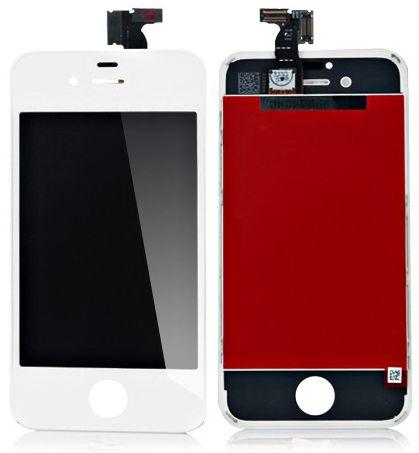 Дисплей для телефонов Apple iPhone 4S, белый чехлы накладки для телефонов кпк phone shell iphone6 iphone5s 6plus 4s