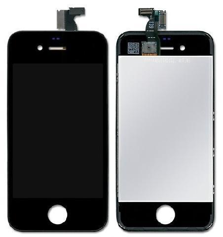 Дисплей для телефонов Apple iPhone 4S, черный чехлы накладки для телефонов кпк phone shell iphone6 iphone5s 6plus 4s
