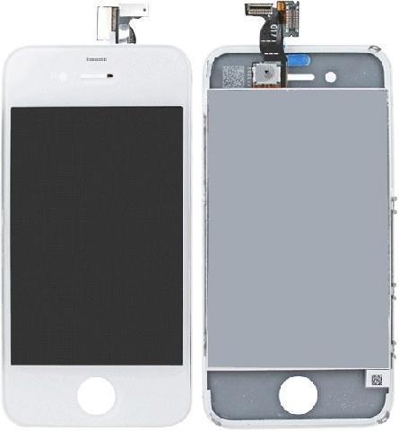 Дисплей для телефонов Apple iPhone 4, белый стоимость