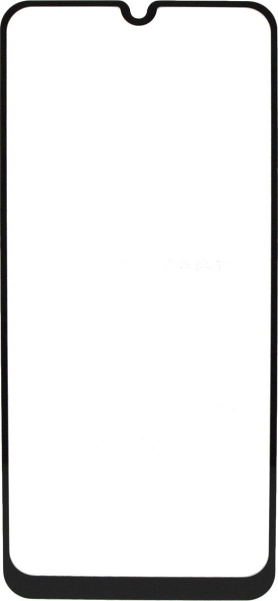 Защитное стекло Brosco 2.5D для Samsung A20, черный