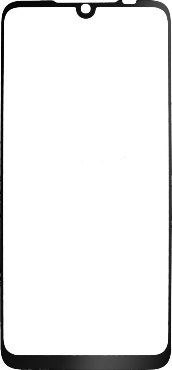 Защитное стекло Brosco 2.5D для Xiaomi Redmi Note 7, черный недорого
