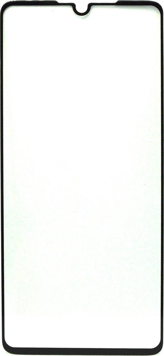 Защитное стекло Brosco 2.5D для Huawei P30 Lite, черный защитное стекло onext для huawei p10 lite 641 41432 с рамкой белый