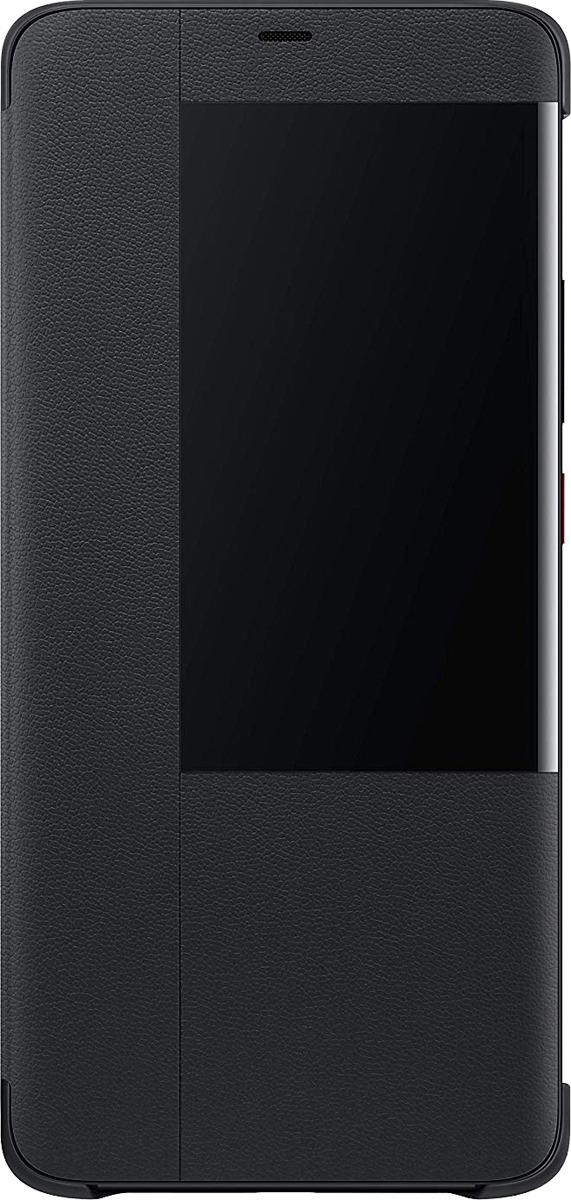 Чехол-книжка Brosco для Huawei Honor Mate 20 Pro, черный дисплей monitor для huawei honor 6 black 2686