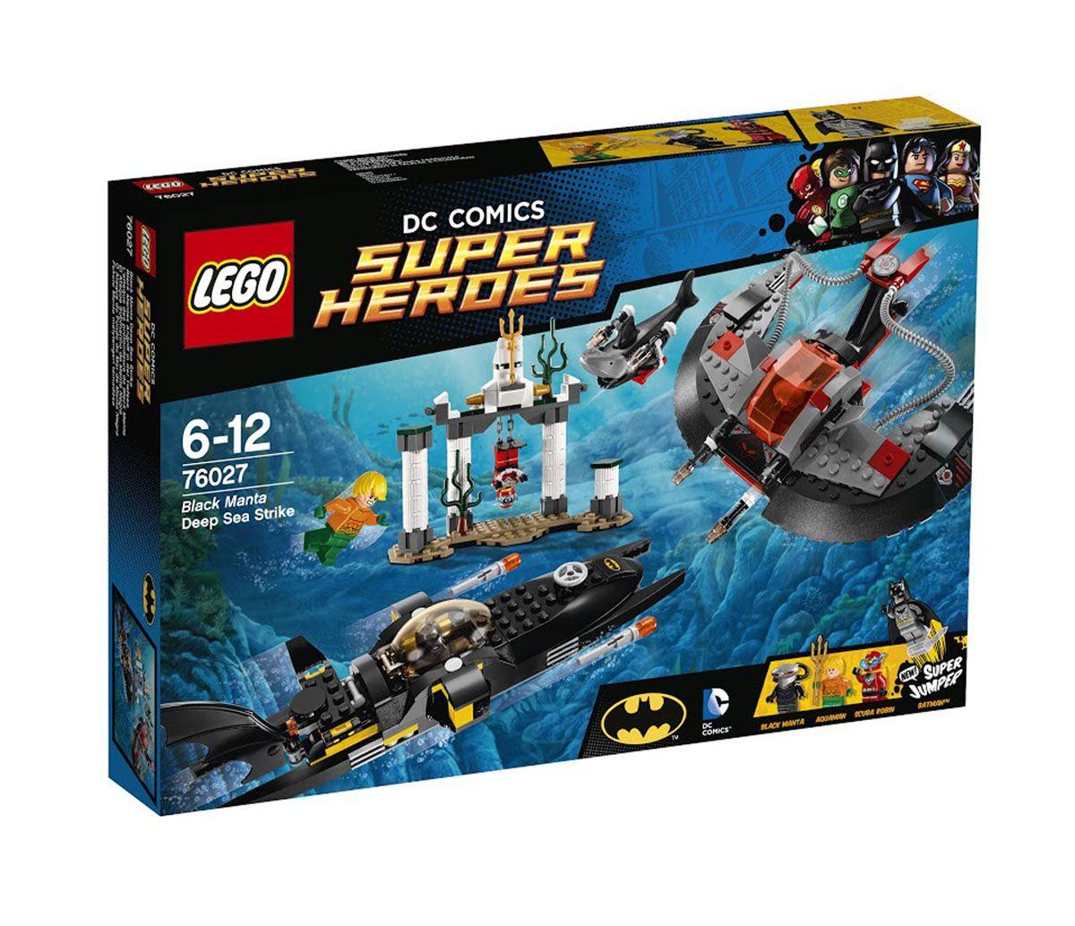 Пластиковый конструктор LEGO 76027
