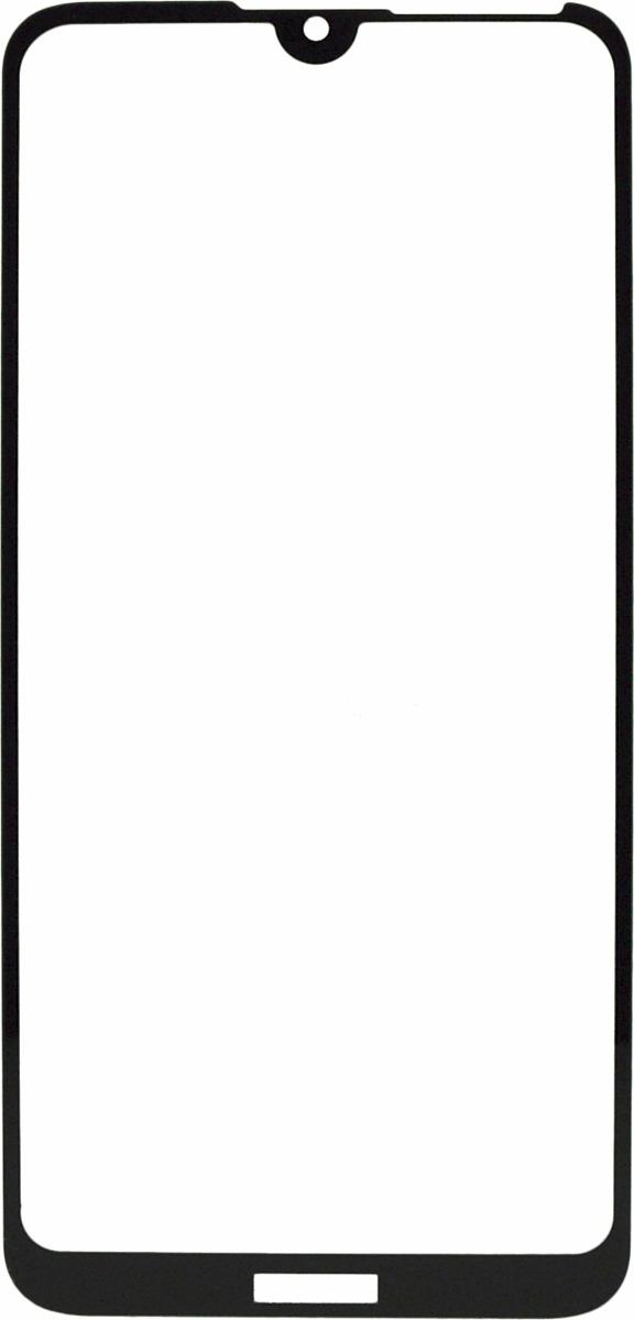 Защитное стекло Brosco 2.5D для Huawei Y7, черный