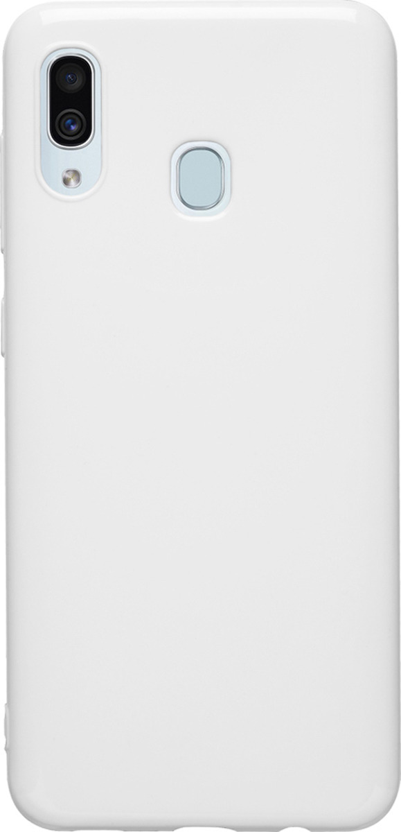 534 ₽ <b>Чехол</b>-<b>накладка Brosco Colourful для</b> Samsung A30, белый