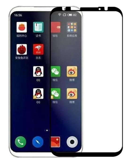 Защитное стекло TFN Meizu 16 защитное стекло для meizu m6s onext на весь экран с черной рамкой