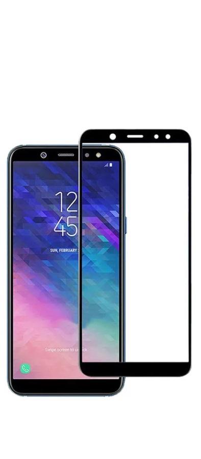 Защитное стекло TFN Samsung Galaxy A6 Plus 2018 защитное стекло для samsung galaxy s9 sm g960 onext 3d изогнутое по форме дисплея с черной рамкой