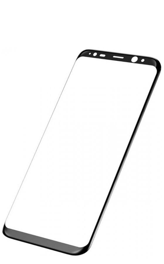 Защитное стекло TFN Samsung Galaxy S8 plus защитное стекло для samsung galaxy s9 sm g960 onext 3d изогнутое по форме дисплея с черной рамкой