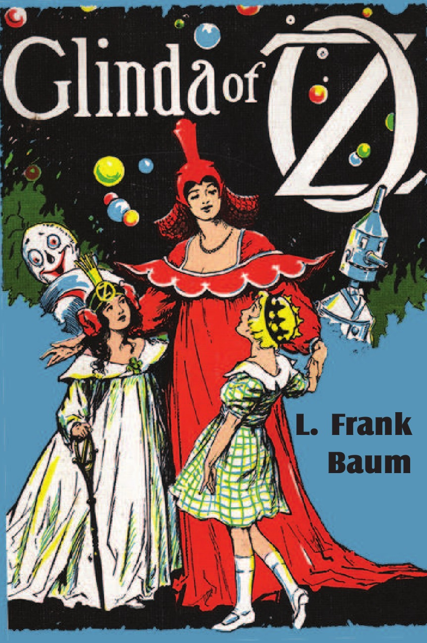 L. Frank Baum Glinda of Oz the wizard of oz books wholesale genuine books for adolescents life must read paper books for children