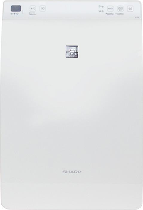 Очиститель воздуха Sharp KC-F31R, c функцией увлажнения, белый зеленый источник воздуха e стюард автомобиль домашний лазер pm2 5 оборудование для обнаружения воздуха 3 0 белый белый