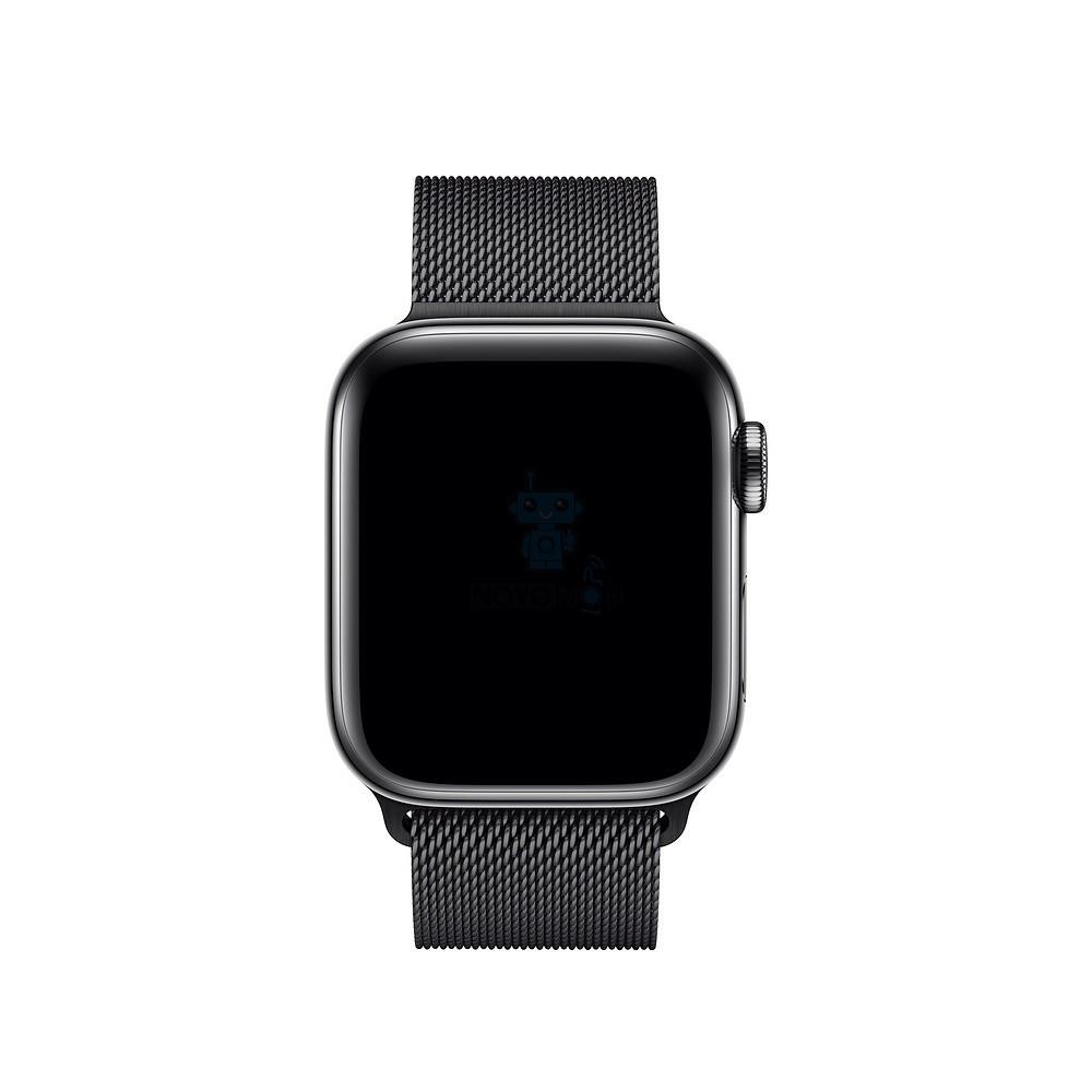 Фото - Ремешок для смарт-часов Blankcase для Apple Watch 38/40, темно-серый ремешок для смарт часов blankcase для apple watch 38 40 темно серый