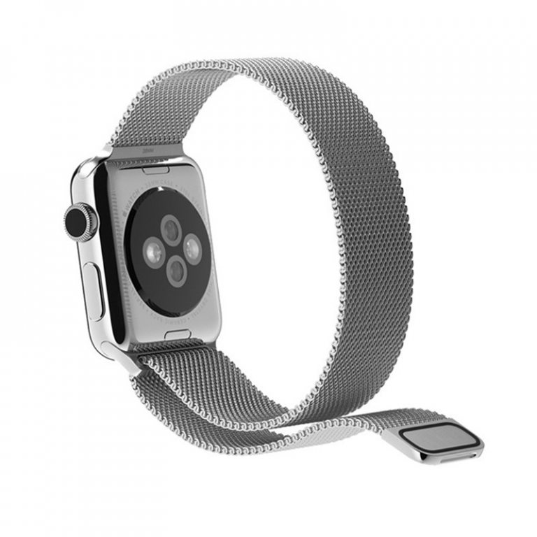 Фото - Ремешок для смарт-часов Blankcase для Apple Watch 38/40, серебристый ремешок для смарт часов blankcase для apple watch 38 40 темно серый