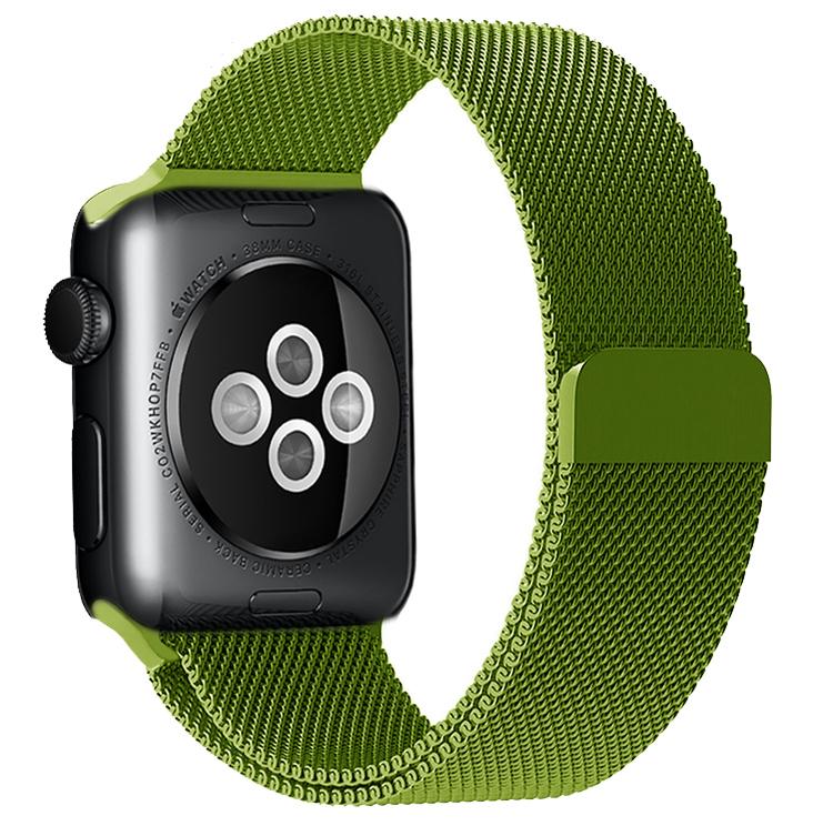 Фото - Ремешок для смарт-часов Blankcase для Apple Watch 38/40, салатовый ремешок для смарт часов blankcase для apple watch 38 40 темно серый