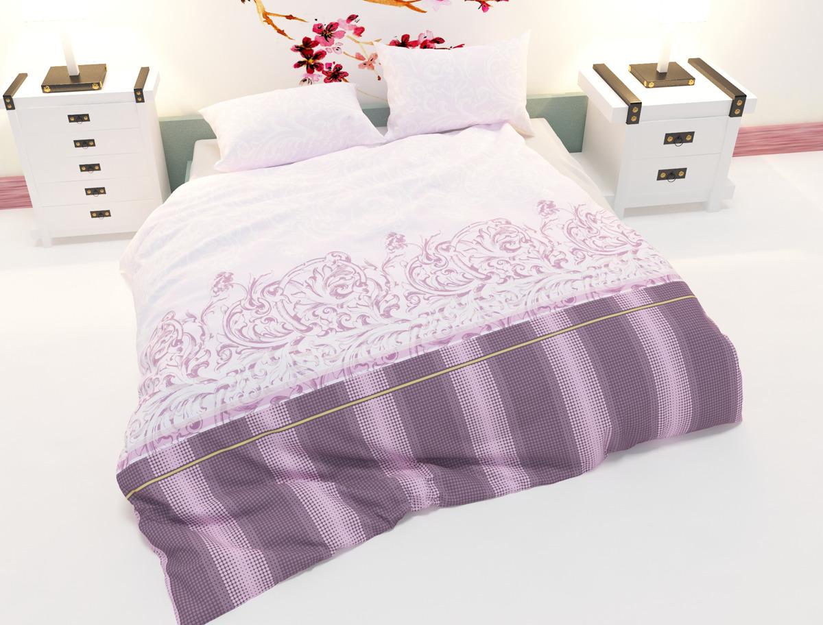 Комплект постельного белья Amore Mio Dijon, 2-х спальный, наволочки 70x70