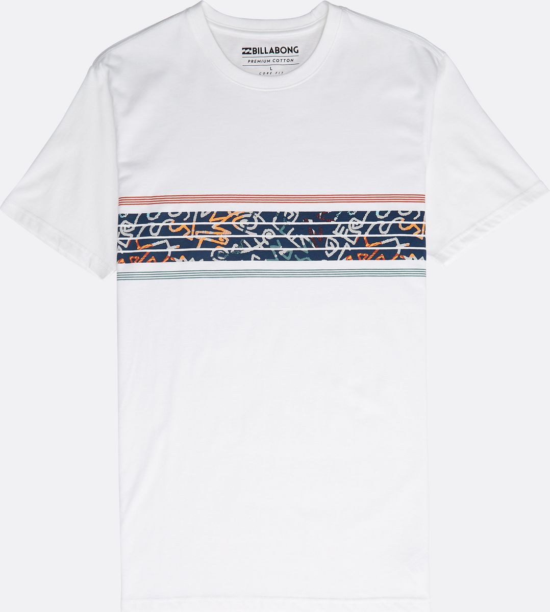 Футболка Billabong Team Stripes Tee Ss футболка хлопковая nike tee club19 ss aj1504 451