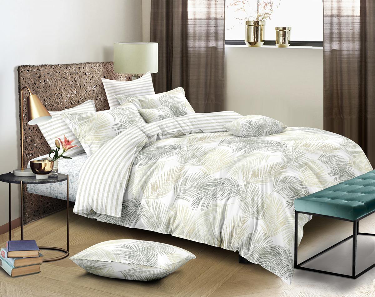 Комплект постельного белья Amore Mio Julie, 2-х спальный, наволочки 70x70