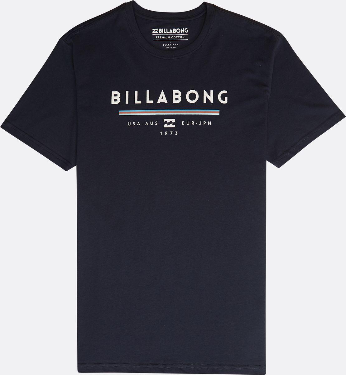 Футболка Billabong Unity Tee Ss футболка хлопковая nike tee club19 ss aj1504 451