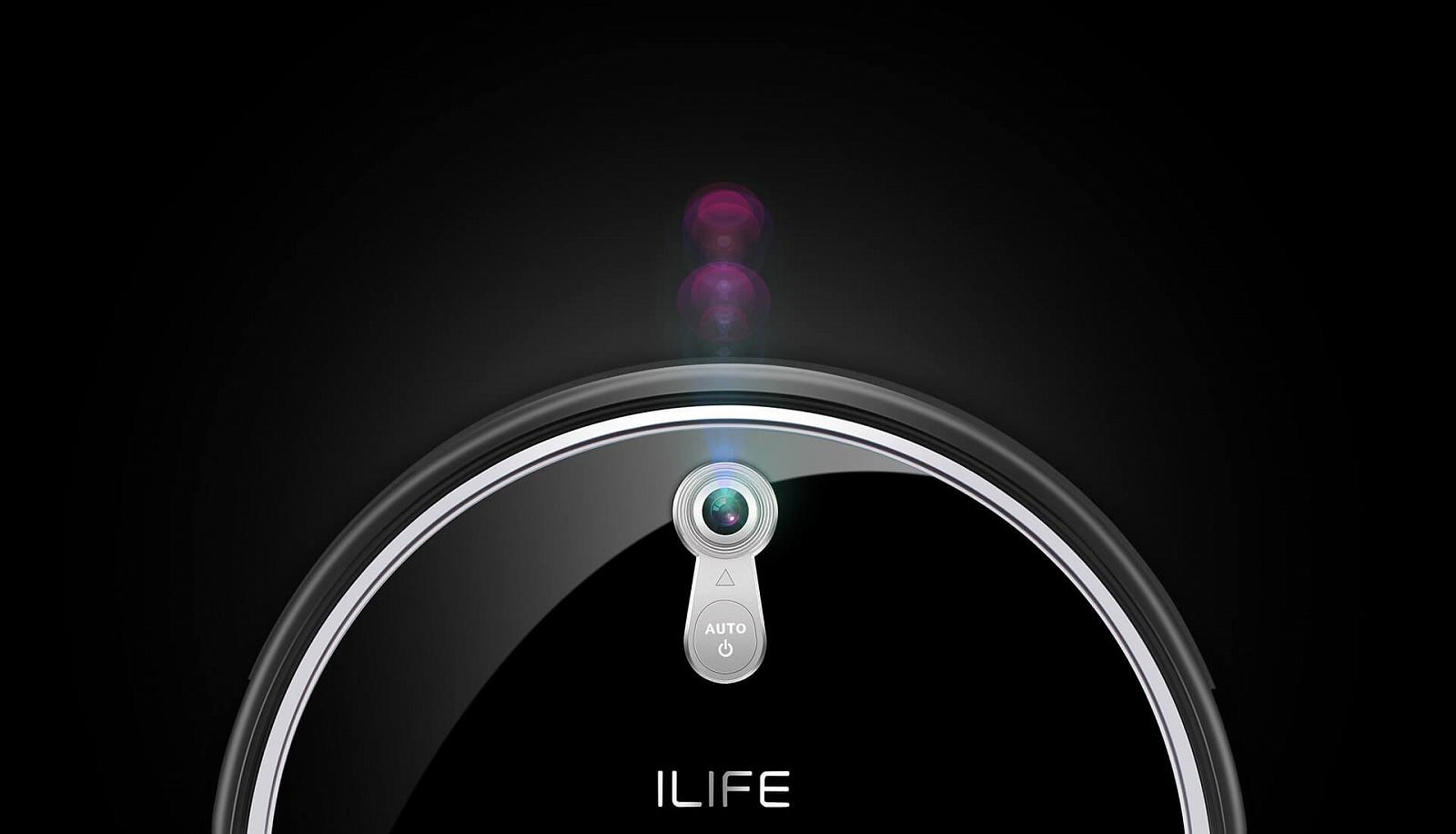 Робот-пылесос iLife A8, черный midea r1 l083b робот пылесос робот пылесос