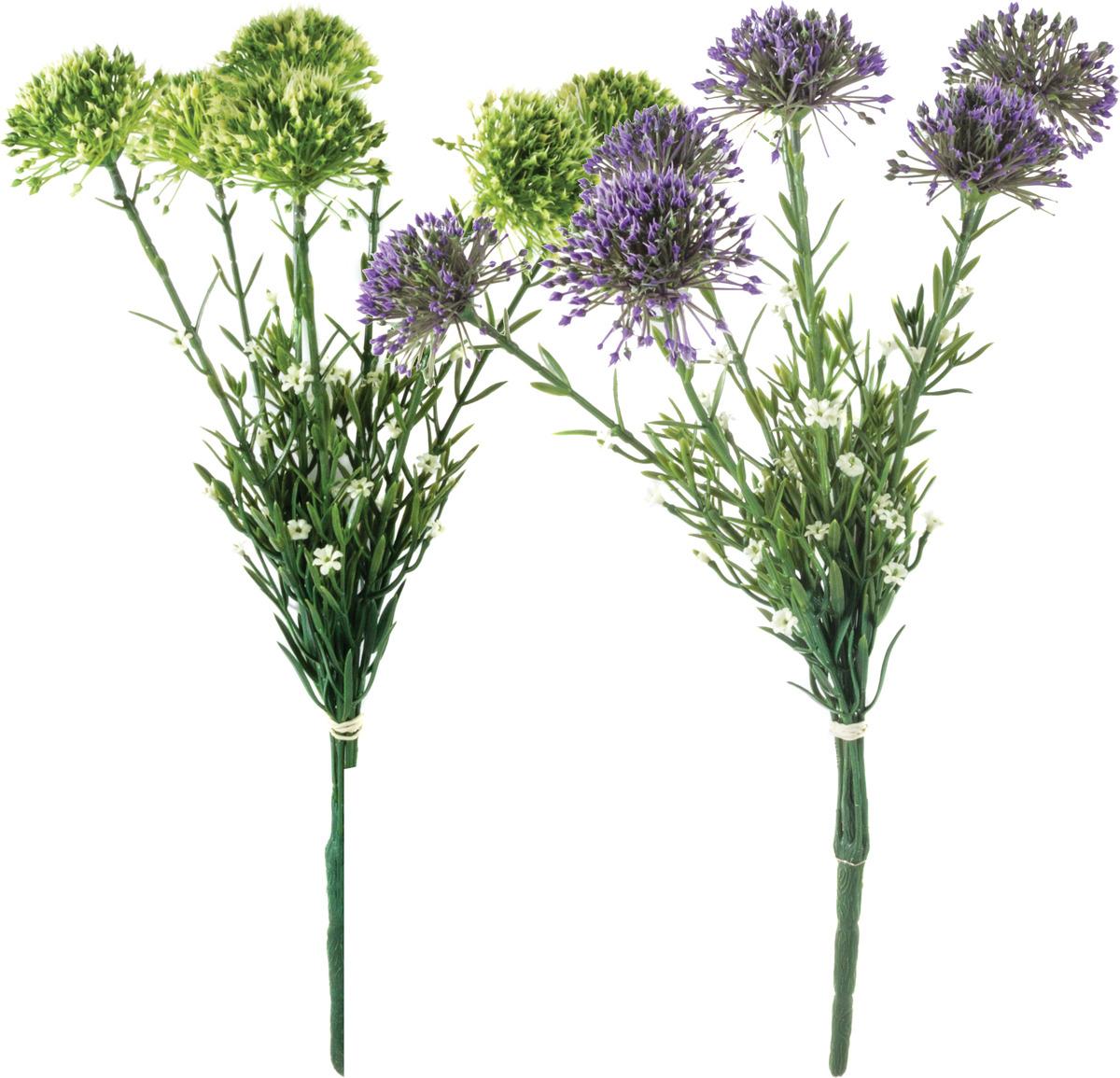 Цветы искусственные Волшебная страна Лук, XF2042, синий искусственные растения valiant муляж лук с перцем в связке желтый 60см шт