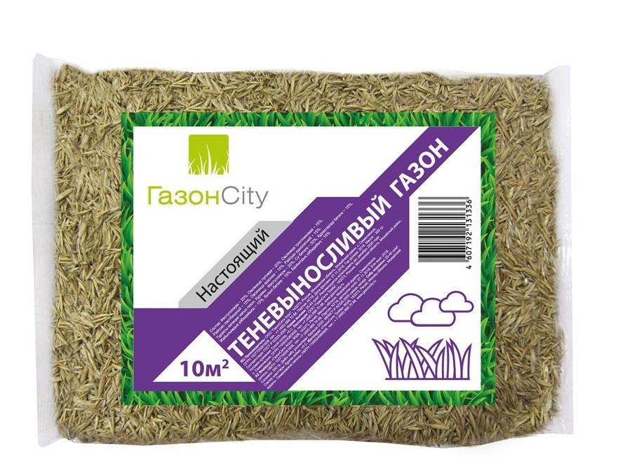 Семена ГазонCity газона Настоящий ТЕНЕВЫНОСЛИВЫЙ, 0,3 кг