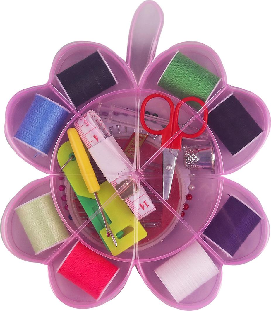 Швейный набор, 3090003, 15 предметов принадлежности для дома new shk1008