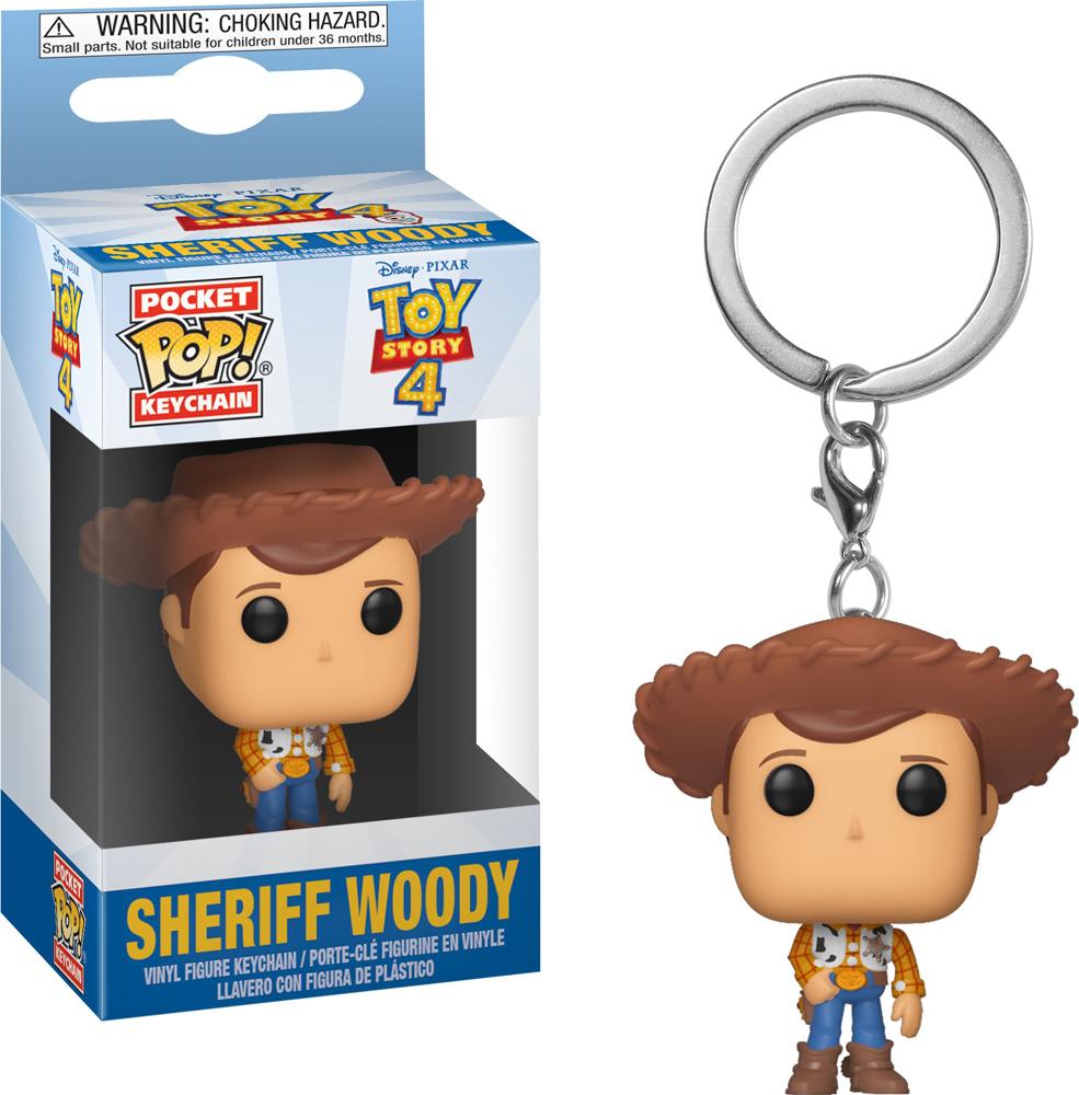 Брелок Funko Pocket POP! Keychain: Disney: Toy Story 4: Woody 37416-PDQ Funko