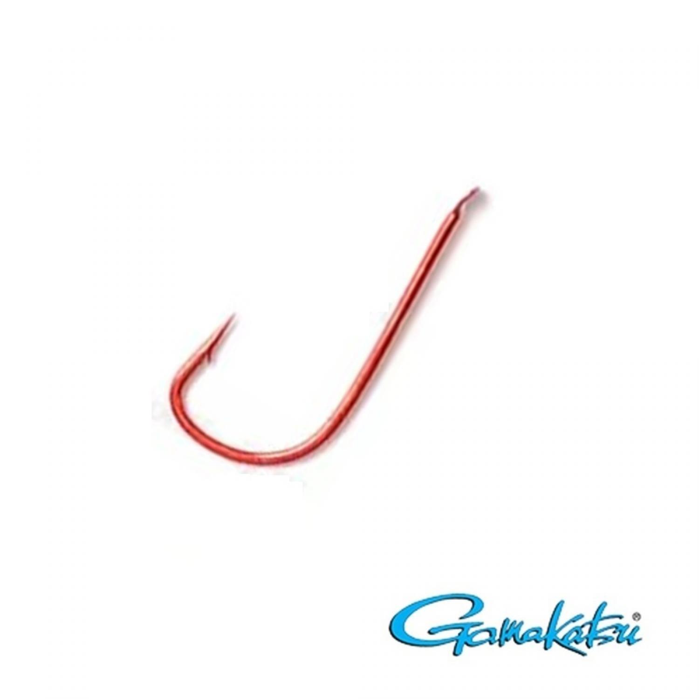 все цены на Крючок рыболовный Gamakatsu УТ000006650, красный, 12 онлайн