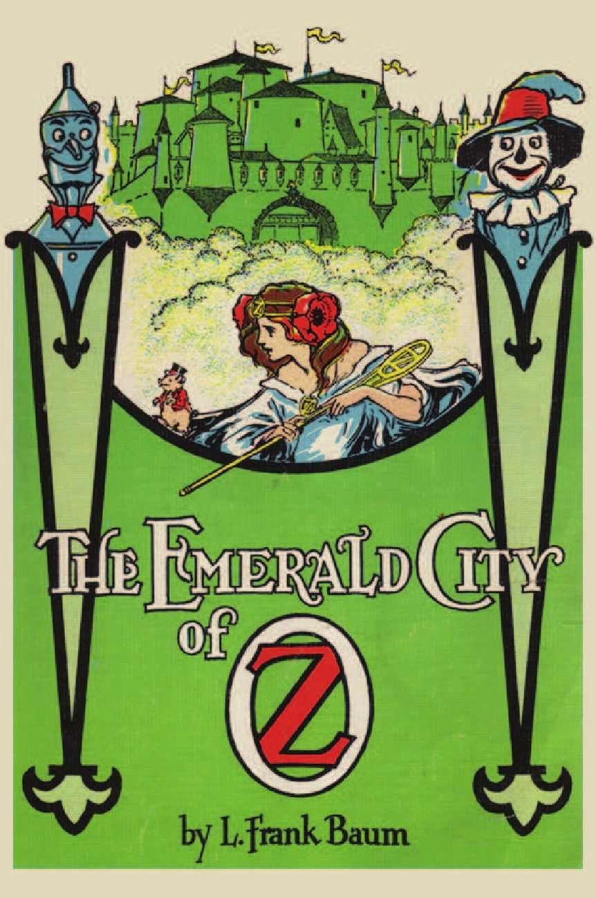 L. Frank Baum The Emerald City of Oz the wizard of oz books wholesale genuine books for adolescents life must read paper books for children