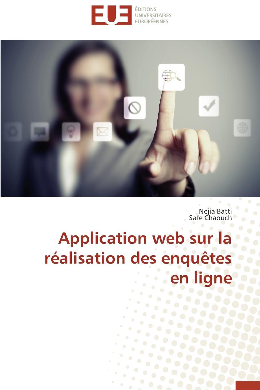 Collectif Application web sur la realisation des enquetes en ligne