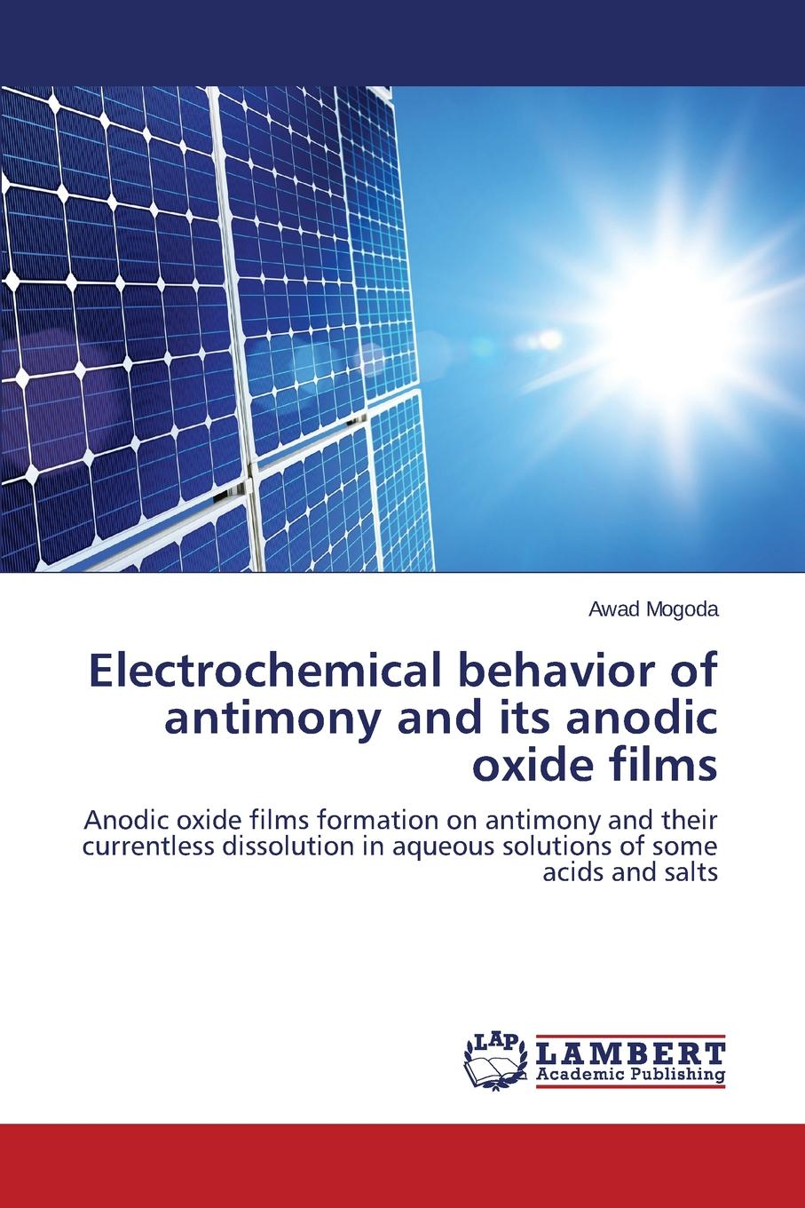 Mogoda Awad Electrochemical behavior of antimony and its anodic oxide films electrochemical devices