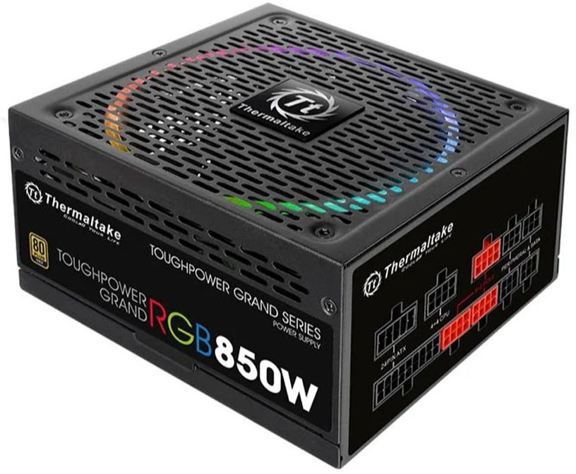 Блок питания Thermaltake ATX 850W Toughpower RGB