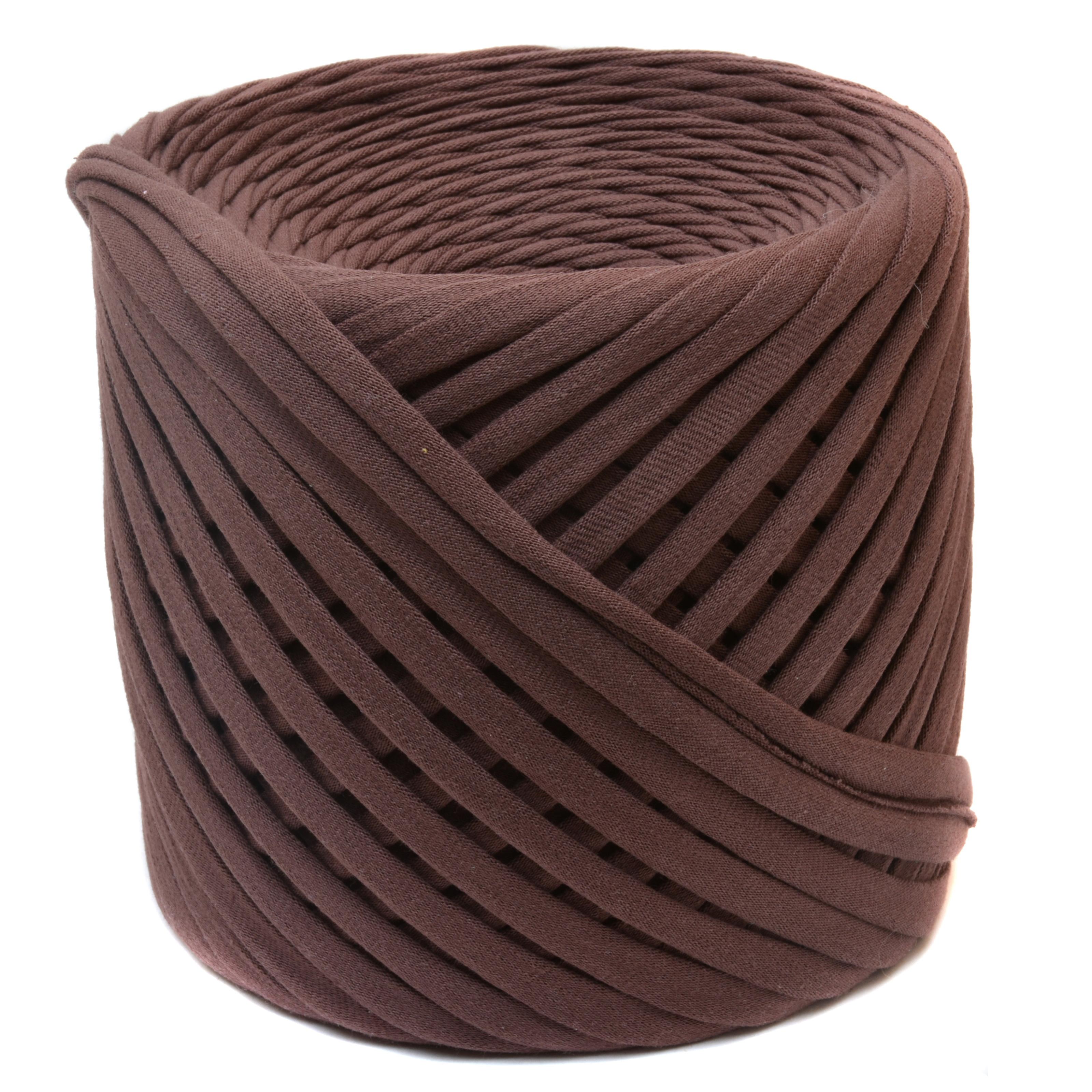 Трикотажная пряжа Saltera. Цвет Шоколад (61)