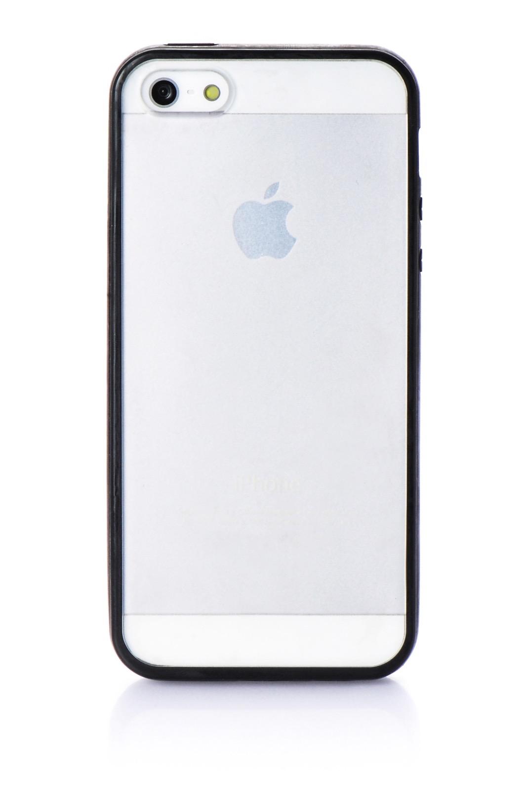 Чехол для сотового телефона iNeez накладка Lims для Apple iPhone 5/5S/SE, черный