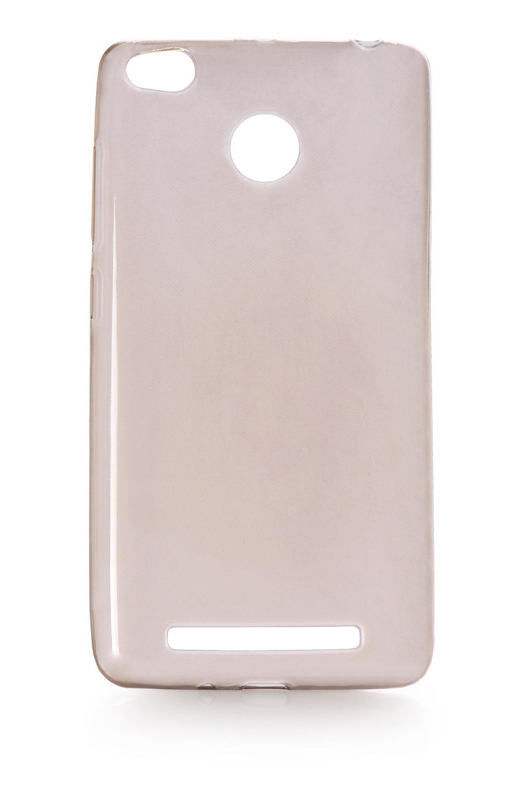 Чехол для сотового телефона iNeez накладка силикон прозрачный для Xiaomi Redmi Note 3, черный