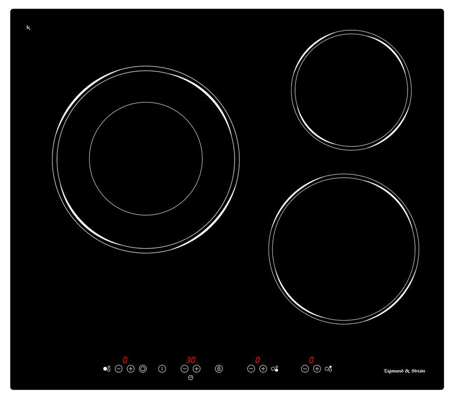 Варочная панель CNS 025.60 BX, черный