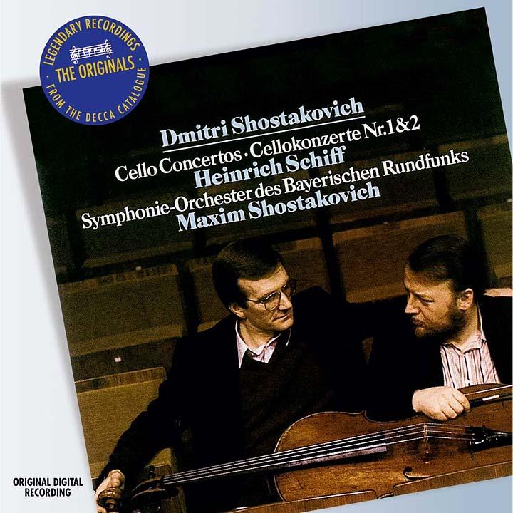 Maxim Shostakovich. Shostakovich: Cello Concertos Nos.1 & 2 mischa maisky shostakovich cello concertos nos 1