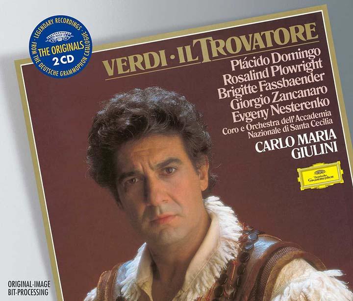 Carlo Maria Giulini. Verdi: Il Trovatore verdi il trovatore blu ray