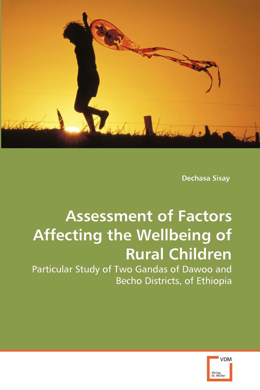 Dechasa Sisay Assessment of Factors Affecting the Wellbeing Rural Children