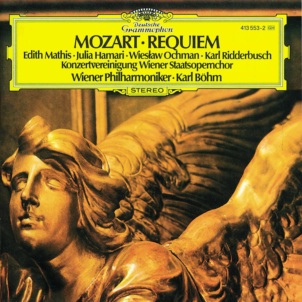 Karl Bohm. Mozart: Requiem c bohm lieder album