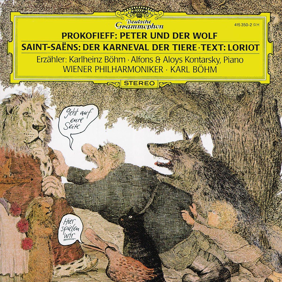 лучшая цена Karl Bohm. Prokofiev: Peter Und Der Wolf/ Saint-Saens: Der Karneval Der Tiere